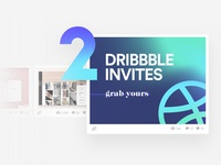 #2 Dribbble Invites