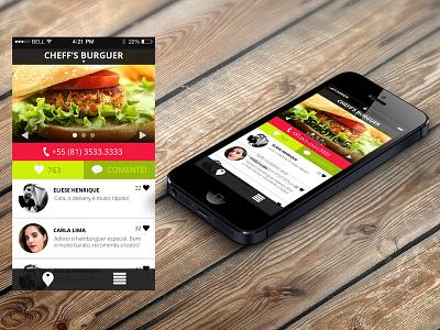 Sirva-se Pernambuco Client sirvase app aplication food guide guia restaurant mobile pernambuco