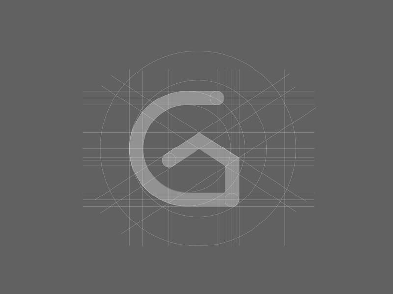 Gustavo Maia corretor imóveis consultor gustavomaia casa house logo branding project