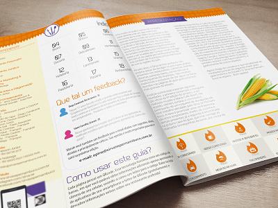 gastronomic magazine diagramação editorial publicação sirva-se publishing magazine guide