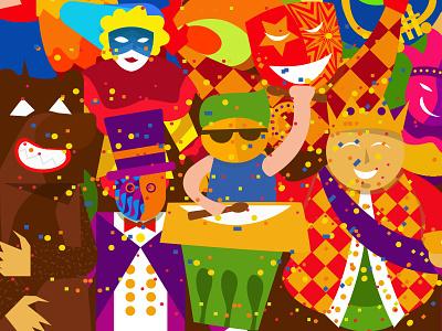 Carnaval De Pernambuco illustration pe pernambuco carnival carnaval