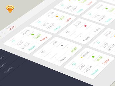 Motel Dashboard cantilever sketch design ui ux layout sistema system dashboard motel