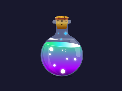 Poção bottle potion