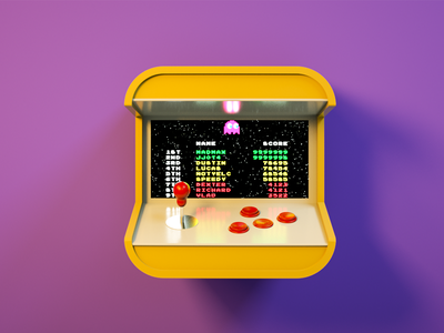Arcade icon fliperama pacman arcade