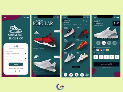 Greatest Shoes. Co Mobile Apps