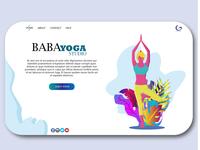 Baba Yoga Studio Landing Page