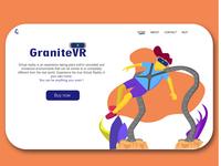 Granite VR landing page concept