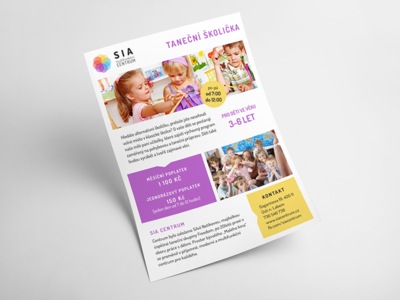 SIA | NURSERY SCHOOL FLYER