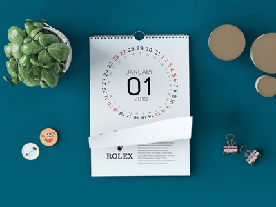 Calendar 2019 Creative Design