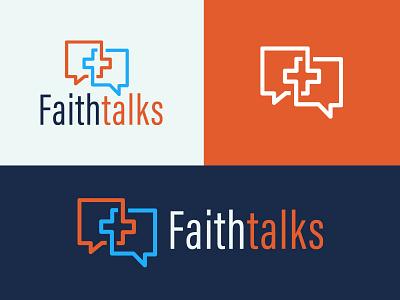 Faith Talks design logo vector idenity branding