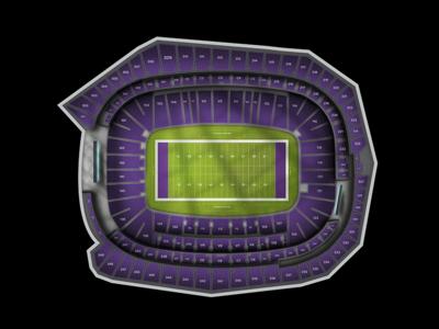 US Bank Stadium chart stadium maps football nfl vikings minnesota