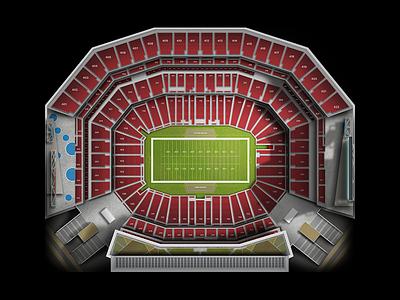 Levi's Stadium stadium levis football nfl 49er sf maps
