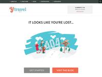 yTravel Blog 404 Error Page