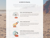 yTravel Blog 12 Steps to Travel Landing Page