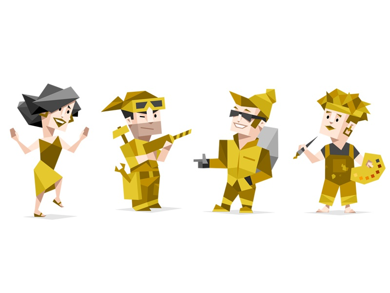 Zeda Labs Projects 16 Personalities Dribbble