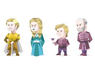 Game Of Thrones House Lannister cartoon person famous personality type lannister origami geometric typology game of thrones character