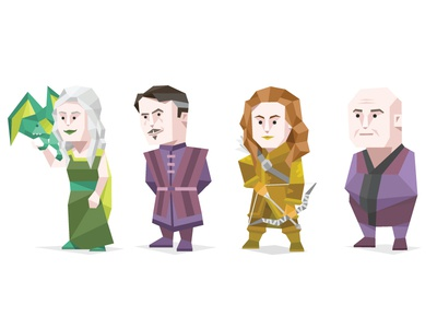 Game Of Thrones - Other cartoon person famous origami geometric personality type typology character khaleesi game of thrones