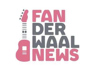 FANderWaal News Logo - A fan group for Grace VanderWaal fan logo news newspaper guitar uke ukulele vanderwaal grace