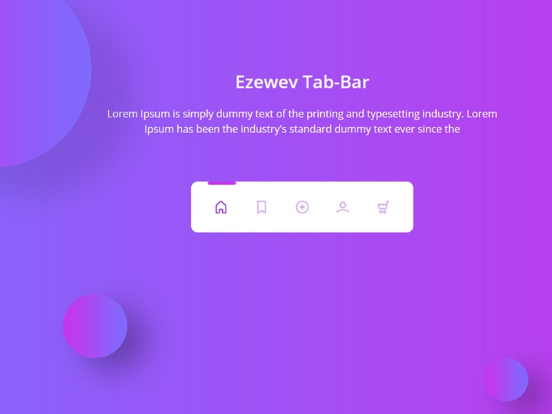 Menu Bar Designs Themes Templates And Downloadable Graphic Elements On Dribbble