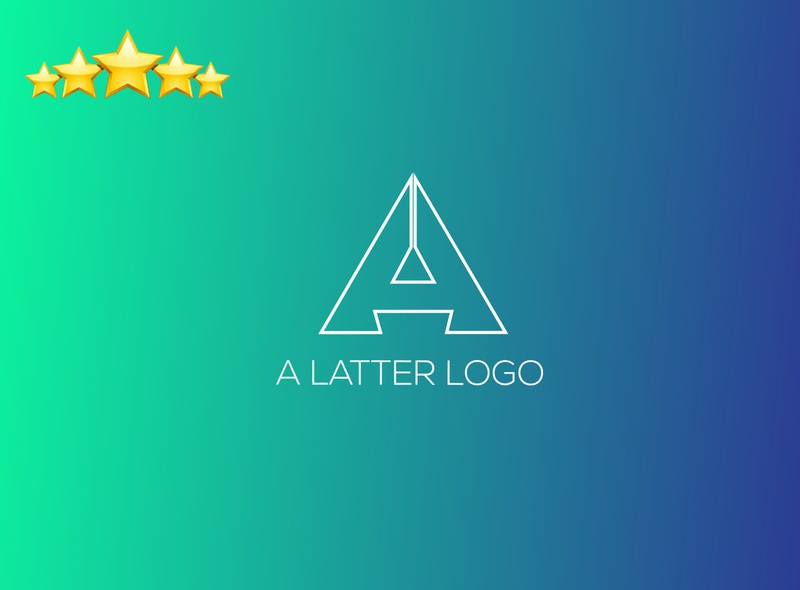 A Latter Logo typography branding design agency illustration vector vector logo logodesigns logomaker graphicdesigner logo branding design graphicdesign logodesign design brand