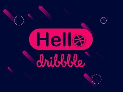 Hello dribbble logodesign design branding logo illustration