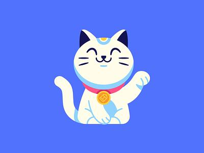 New Website website maneki neko illustration