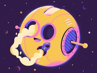 Moon Space Station