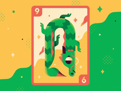 Dragon - Warmup #11 character design character vector art graphic design playing card fire dribbbleweeklywarmup warmup dragon chinese vector illustration