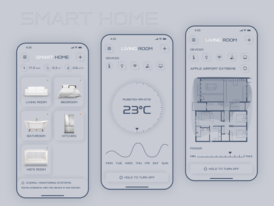 Smart Home App controller devices designs control home smarthome smart ux design app design app android app android ui deisgn ui ios app ios