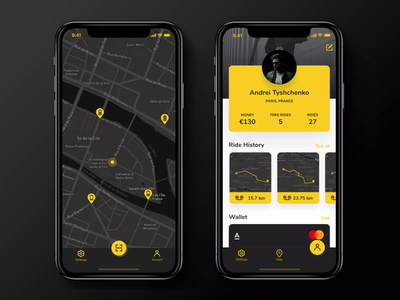 Scooter Sharing product iphone x interaction scooter sharing android app ios app web deisgn animation ux design ui deisgn ios ux ui app