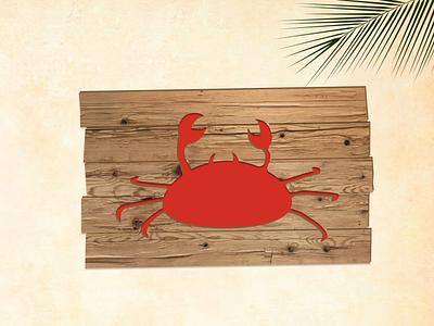 Crab crab design illustration dribbbleweeklywarmup