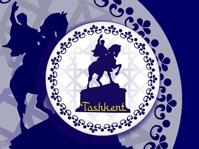 Toshkent city toshkent tashkent branding vector sticker city dribbbleweeklywarmup