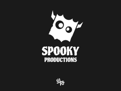 Spooky vector minimal artwork art logodesign logo design