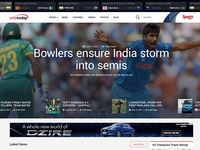 Crictoday Homepage