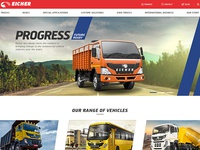 Eicher Website