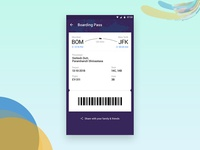 Check-in and seat selection process of booked flight