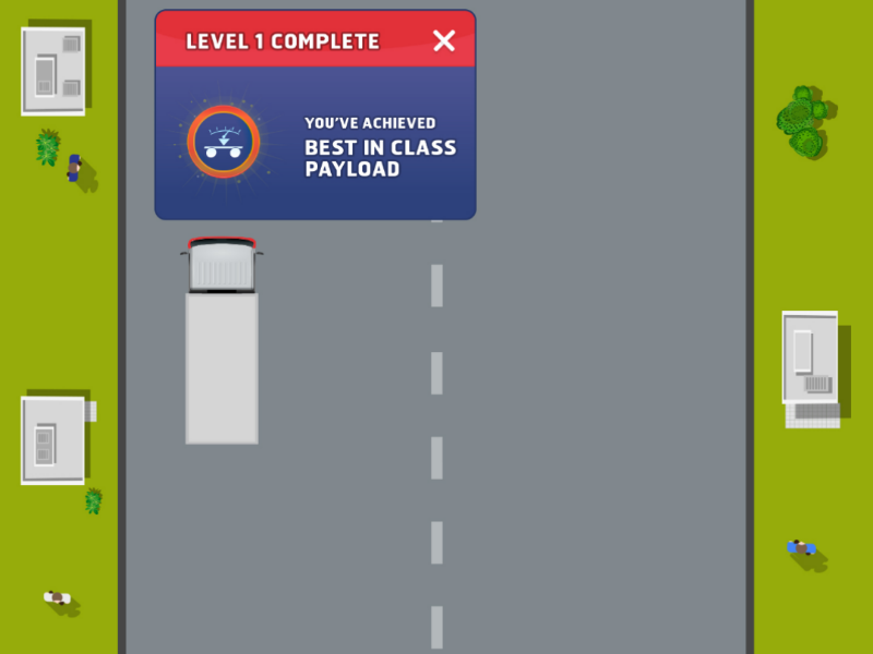 Eicher 7 speed truck game interaction user experience user interface ui ux