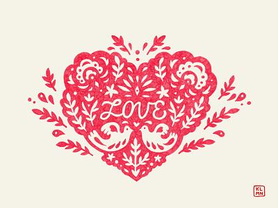 Love irinaklmn irinaklimina 14february love poster drawing illustration