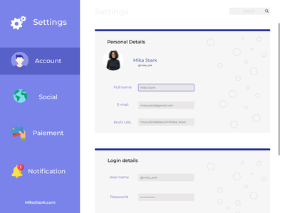 settings page uxdesigner uxdesign figmadesign figma uiux uidesigner uidesing daily 100 challenge dailyui uidesign ux ui creativity designer design