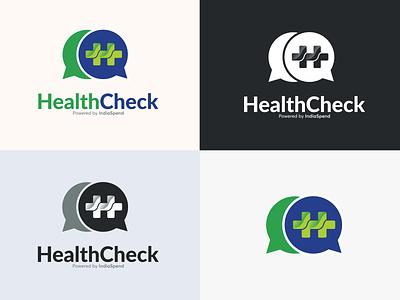 Logo Design for Health Check startup logo icon design healthcare minimal logo ingenious folks indiaspend medical logo corporate identity logo branding brand identity logo design graphic design