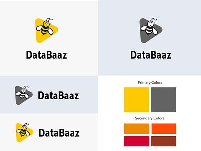Databaaz Logo Design illustration startup logo logo inspiration ingenious folks design creative agency logo design logo graphic design corporate identity branding brand identity