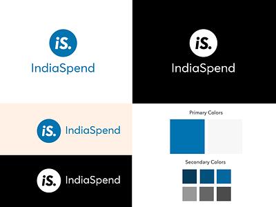 IndiaSpend Logo minimal logo indiaspend illustration icon startup logo logo inspiration ingenious folks design creative agency logo design logo graphic design corporate identity branding brand identity