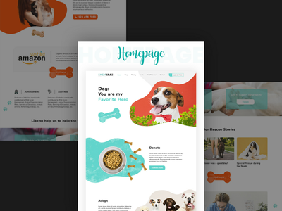 Snehvaas Pet Rescue Homepage adopt dog adopt animals adopt website design website social media template social media pet rescue pet homepage animals dog food donate food donate dog