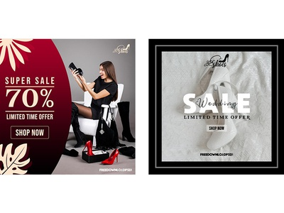 Sale On Heels Social Media
