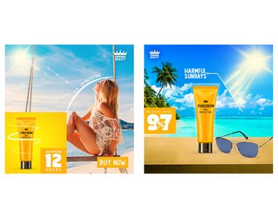Sunscreen Social Media