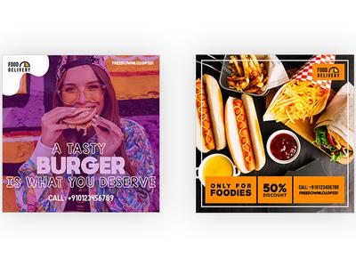 Food Delivery Social Media