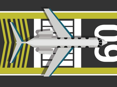 Ready to take off plane ilustration flat  design adobe illustrator illustrator vector design illustration graphic design