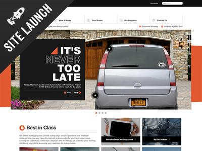 RIT Online Site Launch