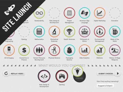 Interactive Alumni Poll - Microsite Launch