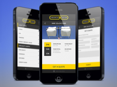 Sourcemaker Mobile Website